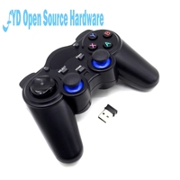 2 4GHz Wireless Gamepad Game Controller For PC Raspberry Pi RetroPie Android Smart TV Box Tablet