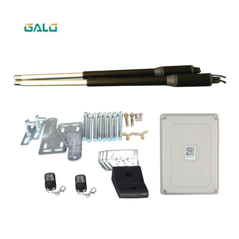 An aluminum design For home use Dual Swing Gate Opener Kits with wifi camera Optional Remote monitoring