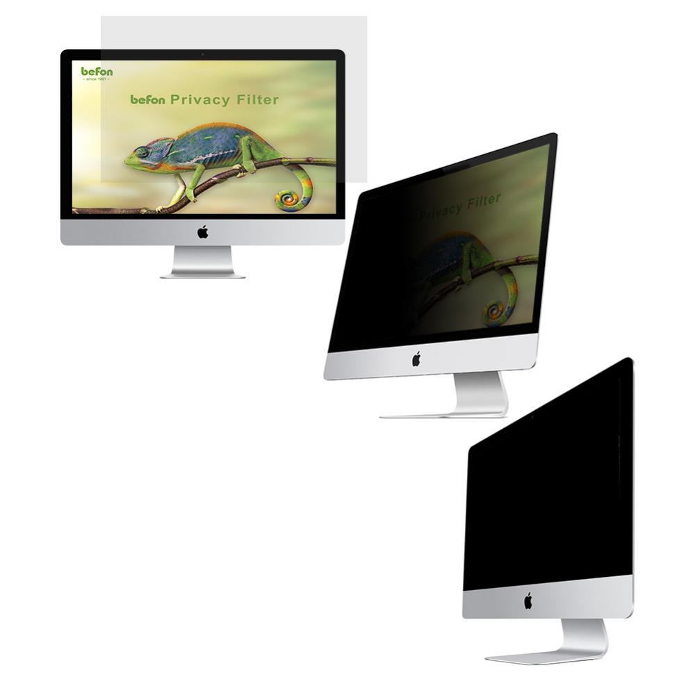 befon 19 Inch (16:10) LCD Monitor Privacy Filter for Widescreen Desktop Computer
