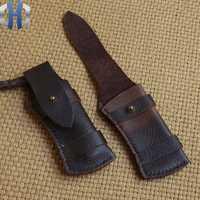 Cuchillo de cuero de vaca cuchillos de bolsillo Funda de cuero
