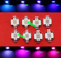 10W High Power LED Plant Grow Chip 395nm 450nm 660nm 6500K Royal Blue Deep Red Green For Plant Growing