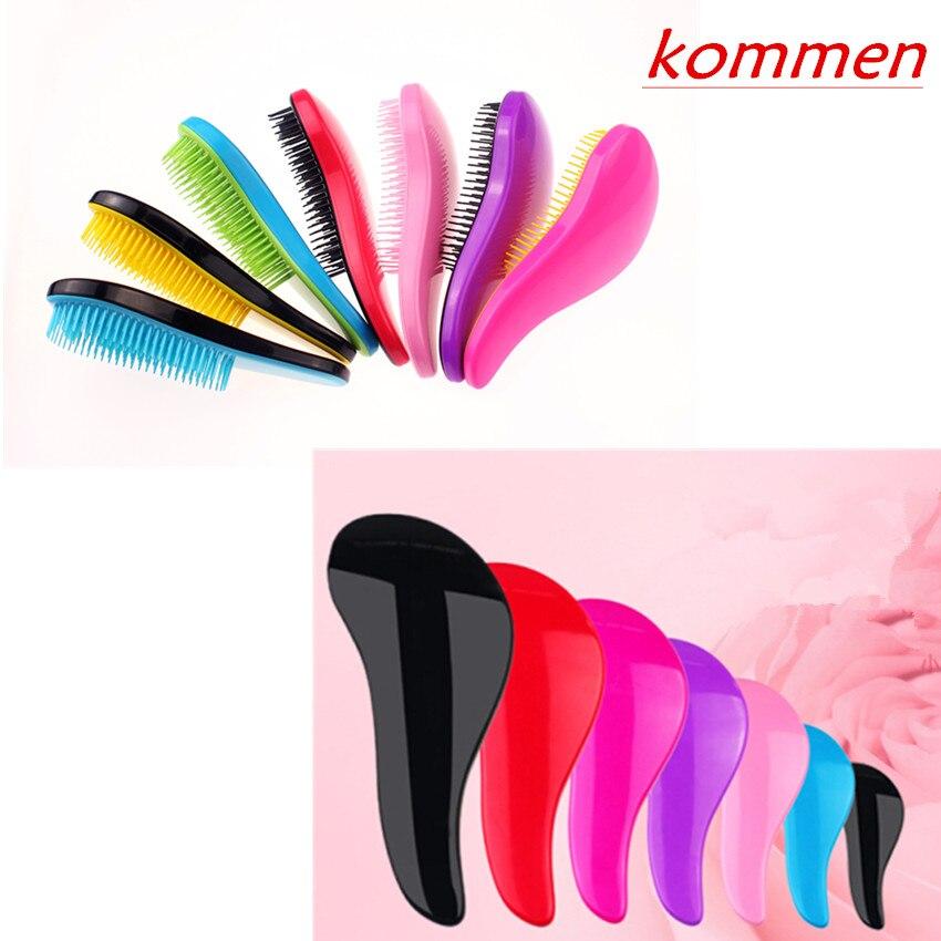 1 Pcs Magic Comb Hair Brush Hairbrush Anti Tangle Anti-Static Hair Massage Detangling Combs Styling Tools (No Packaging)