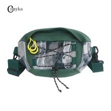 CUMYKA Hip Hop Street Waist Packs Oxford Women Pillow Handbag Men Crossbody Chest Bags Vintage Shoulder Bag PVC New