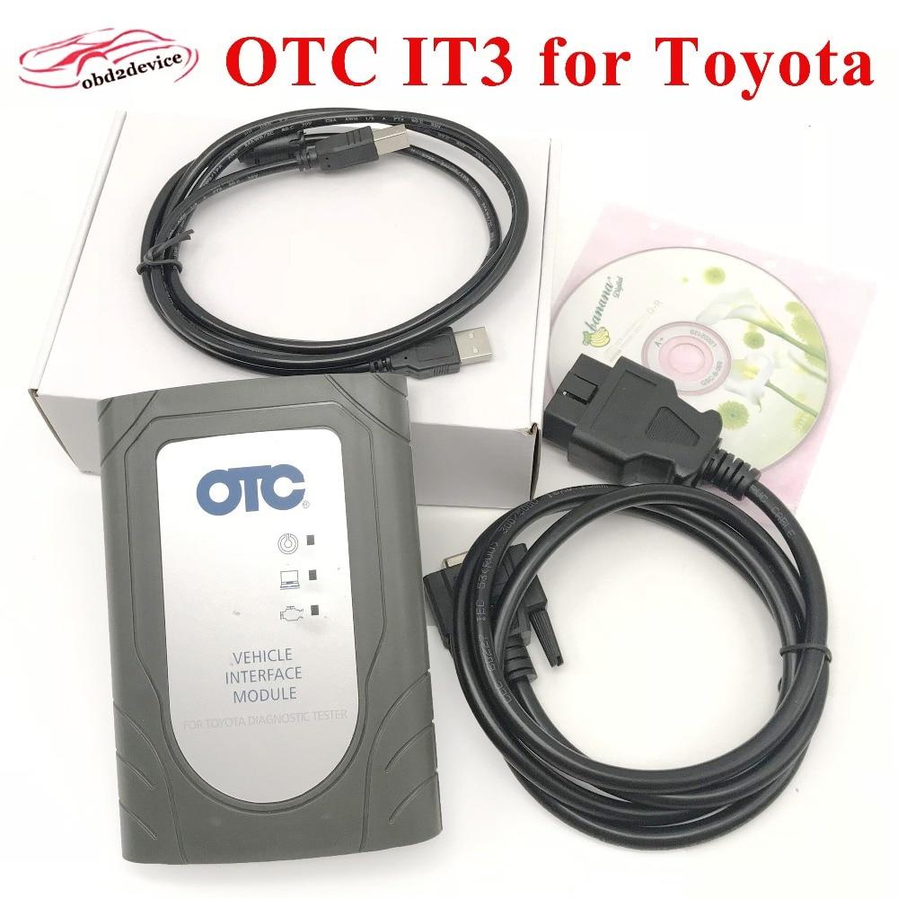 GTR OTC IT3 Strumento di Diagnostica Auto per Toyota Globale Techstream VIM OBD Scanner TIS3 per TO-YO-TA REI-Z/CAM-RY migliore di IT2