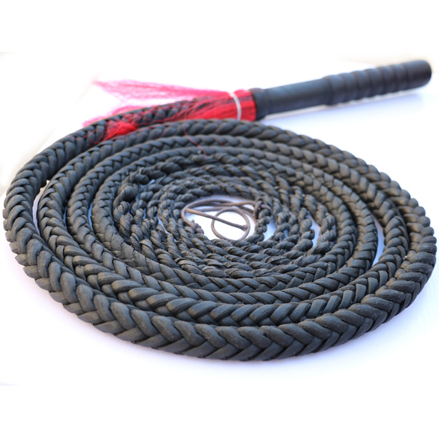 Handmade Braided Horse Whips Flogger For Horse Racing Genuine Bull Leather Equestrian Horse Riding Whip Equestrian Equipment A