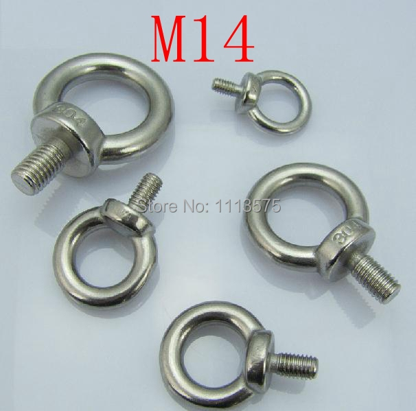 M6 GALVANISED LIFTING EYE BOLT Towing Bolts Lifting Gear METRIC THREAD NUT