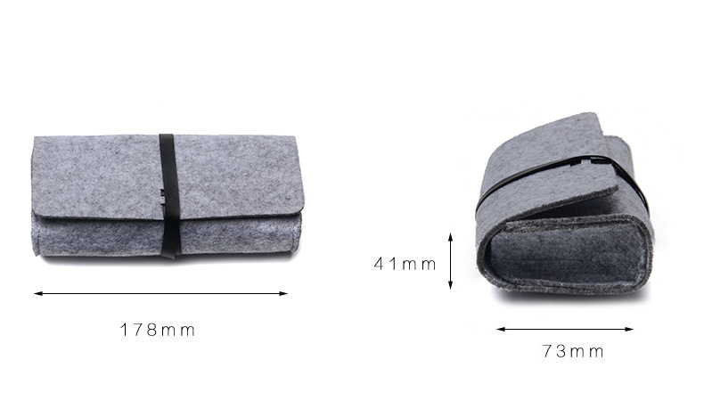 New Felt Sunglasses Case For Women Kleurrijke Candy Brillen Doos - Kledingaccessoires - Foto 6