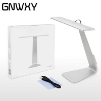 New GNWXY Ultrathin Mac Style LED Dimming Touch Reading Table Lamp Eyes Protective Folding Table Lamp