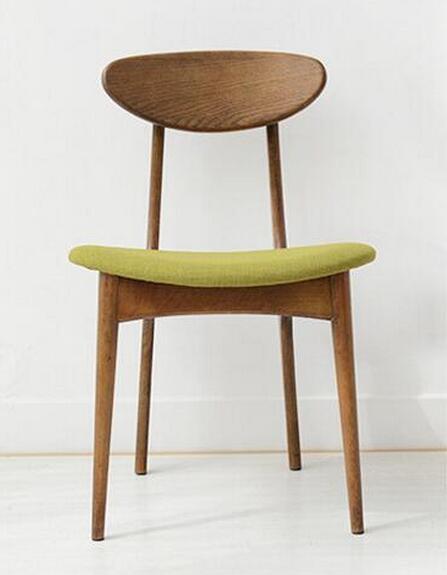 Высокое качество Soild обеденный стул из дерева гостиничные стулья - Цвет: walnut color