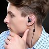 KZ ED12 Custom Style Earphone Detachable Cable Noise Isolating HiFi Music Sport Earbuds With Microphone MP3