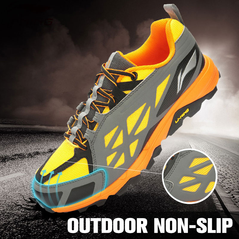 LI-NING 2015 New DMX Technology Non-slip Breathable Charming Lace-up Sport Shoes Sneakers Running Shoes For Men ARDK027 XYP079 mulinsen men s running shoes blue black red gray outdoor running sport shoes breathable non slip sport sneakers 270235