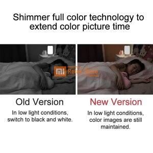 Image 4 - 2018 del NUOVO Xiaomi Norma Mijia Smart Camera Aggiornato 1080P HD A Colori A Bassa Tecnologia Della Luce di Notte Versione Senza Fili Wifi APP Per smart Home, Casa Intelligente