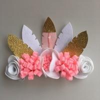 Flower Headband Bandage Lace Hairband Girls Hairpiece Child Hair Accessory Baby Hairband