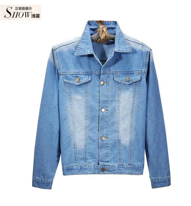 a526dc0e4bb 2015 New Arrival Spring Autumn Style Men s Denim Jacket Coats Fashion  Casual Vintage Jeans Stylish Short Design S080-in Jackets from Men s  Clothing on ...