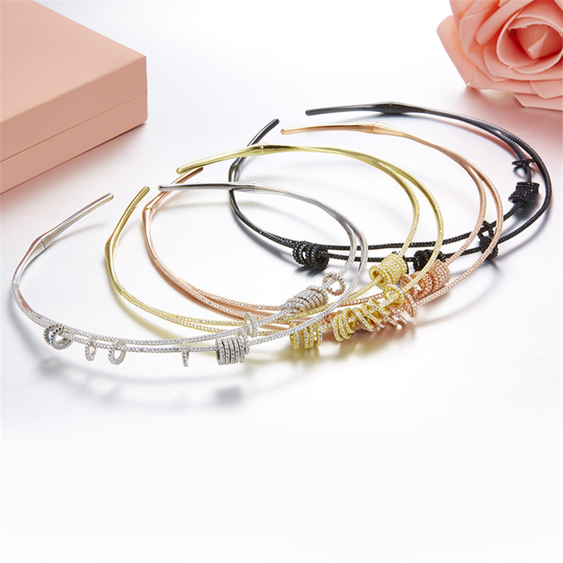 brand monaco zircon Activity bead circle necklace , rose gold silver black zircon cz spinner rotate small circle open collar stylish circle bead layered chokers necklace