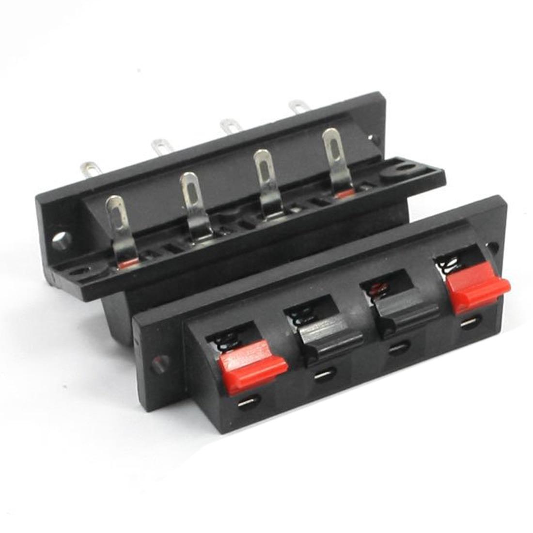 IMC Hot Single Row 4 Pin 4 Position Speaker Terminal Board Connectors 5 Pcs компьютерные аксессуары imc 27g 4 mainboard i006965