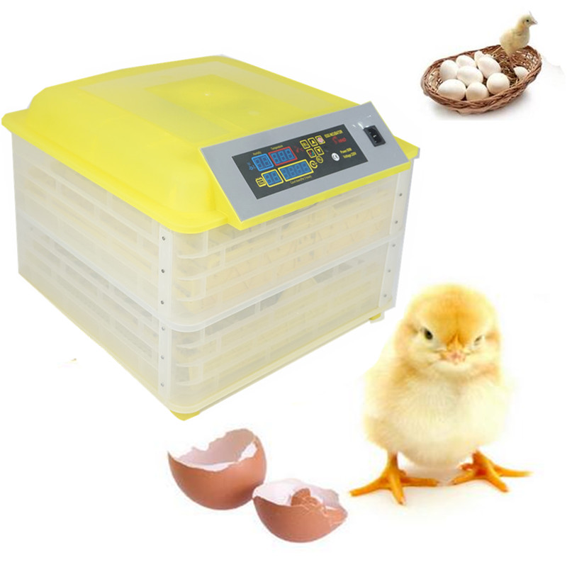 Full Automatic Egg Incubator China 96 Egg Turning Commercial Farm Hatchery Machine chicken egg Hatcher все цены