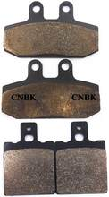 F+R Brake Pads Set fit HONDA 125 NSR NSR125 1991 1998 1999 2000 2001 2002 2003 Front Rear(China)