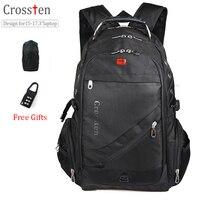 Swiss Military Army Travel Bags Laptop Backpack 15 6 17 Multifunctional Schoolbag For Macbook Waterproof Fabric