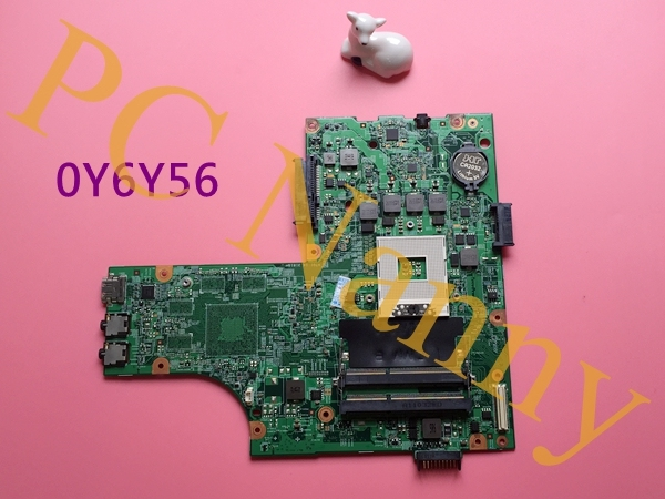 Genuine para DELL Inspiron 15R N5010 Laptop Motherboard CN-0Y6Y56 0Y6Y56 Y6Y56 48.4HH01.011 HM57 integrada