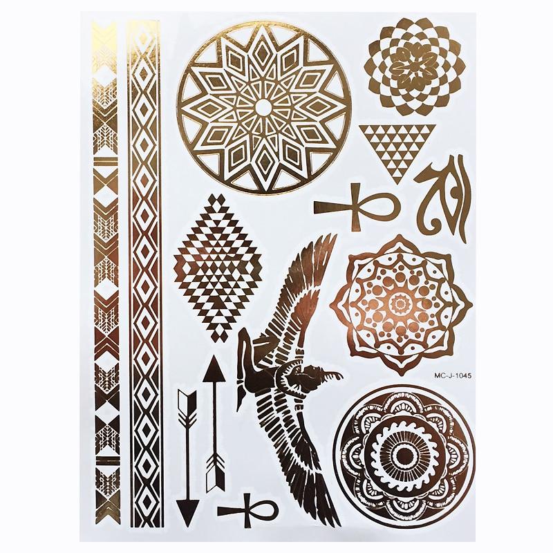 5пцс / лот Ватерпрооф Темпорари Таттоо - Тетоважа и боди арт - Фотографија 3