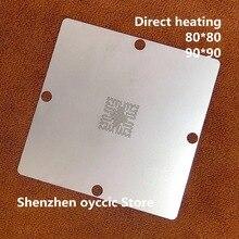 مباشرة التدفئة 80*80 90*90 TCC8801 OA TCC8801 TCC8801 OAX استنسل قالب