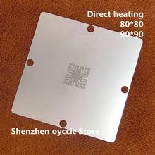 Doğrudan ısıtma 80*80 90*90 TCC8801 OA TCC8801 TCC8801 OAX Stencil Şablon