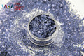 HH2104-244 Azul Marrón Color de Forma Hexagonal Cequis Del Brillo para el arte del clavo DIY decoración y decoraciones de Halloween