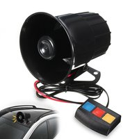 1 Set 3 Tone PA System 110db Loud Horn Siren Alarm For Car Boat Motorcycle Truck