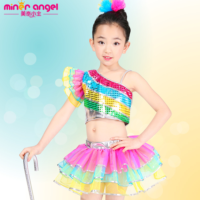74e17927b International Children s Day jazz dance costumes Modern dancing ...