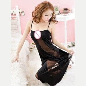Image 5 - Hot New Black Plus Size XXL XXXL XXXXL 5XL 6XL Sexy Lingerie Nightgown Gown Long Babydoll Sleepwear,Sexy Dress For Sex Clothing