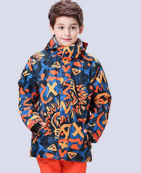 2016 childrens ski jackets red doodle boys skateboarding tops kids skiing jackets skiwear mountain-climbing coat waterproof 10K 2016 childrens ski jackets red doodle boys skateboarding tops kids skiing jackets skiwear mountain-climbing coat waterproof 10K