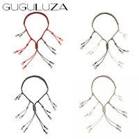 GUGULUZA Eend Spel Call Lanyard met 12 Verstelbare Loops Lanyard Houder Hand Gevlochten Paracord Jacht Lokvogels Touw NIEUWE
