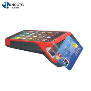 Image 3 - 5,5 дюймов 3G/4G/Wi Fi NFC сенсорный экран портативный отпечаток пальца Edc Android POS терминал с принтером