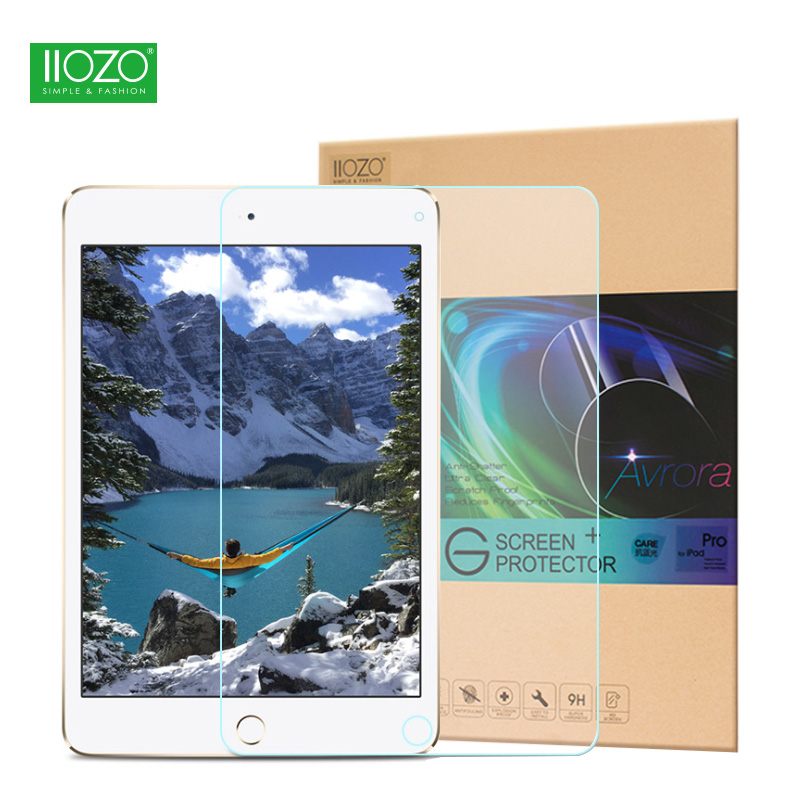 Luxury Tempered Glass for 2017 New iPad Pro 12.9 0.3mm 9H Explosion-proof Toughened Ultra Thin HD Film Screen Protector Cover
