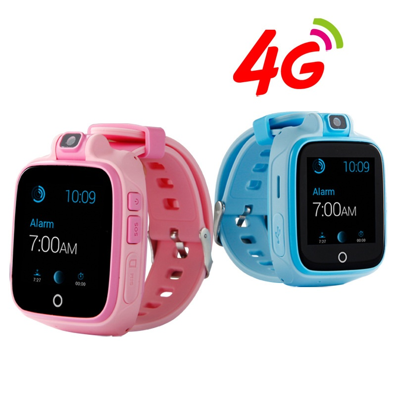 Child SOS 4G Smart Watch GPS Locator Anti Lost GSM Alarm Smart Watch GPS LBS WIFI Two-Way Kids Smart Watch Rotatable Camera Q400 gk310 portable smart 4g gps tracker compatible with lte wcdma gsm network and touch screen with two way talking gps