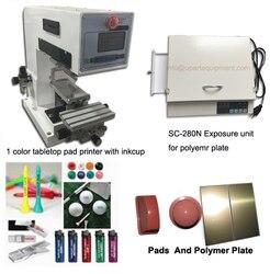 Cały zestaw maszyny do druku tamponowego i narażenia na kontakt z maszyny na sprzedaż