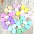 1 pcs colorido trevo de quatro folhas guirlandas de papel para casa de festa de casamento/baby shower/festa de aniversário crianças festival decoração