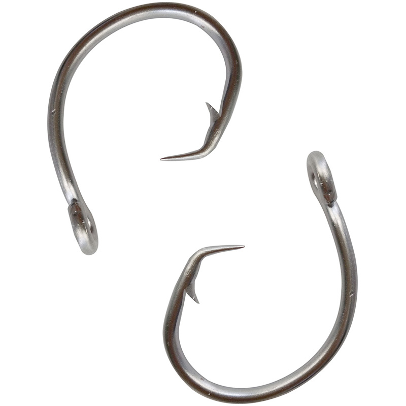 30pcs 39960 stainless steel fishing hooks white thick tuna for Stainless steel fishing hooks