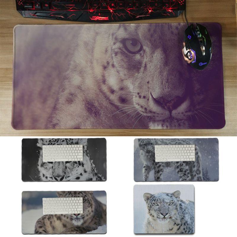 Yinuoda pc коврик для мыши Snow Leopard геймер играть коврики Мышь pad Размеры для 30x60 см и 30x60 см игровой Мышь колодки