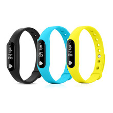 Brand New C6 font b Smart b font Wristband Support Heart Rate Monitor Bracelet Bluetooth 4