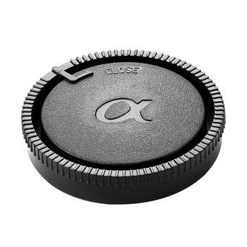 Z tworzywa sztucznego z tyłu tylny obiektyw pokrywa kamera przednia osłona korpusu dla Sony Alpha Minolta DSLR MA do montażu na akcesoria do obiektywów tanie i dobre opinie Sony Minolta Rear Lens Cover Standard Size Black 1 Set