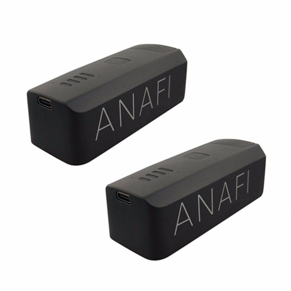 2 pcs 7.6 V 2700 mah batterie au lithium pour perroquet ANAFI quadrirotor batterie dédiée drone aérien pièces de rechange