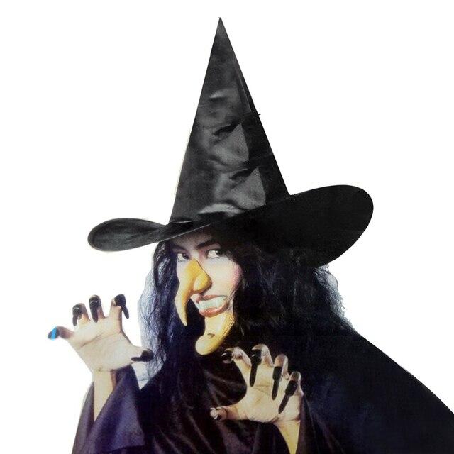 TAOS 14pcs Women Lady Halloween Witch Costume Hat Long Fingernails ...