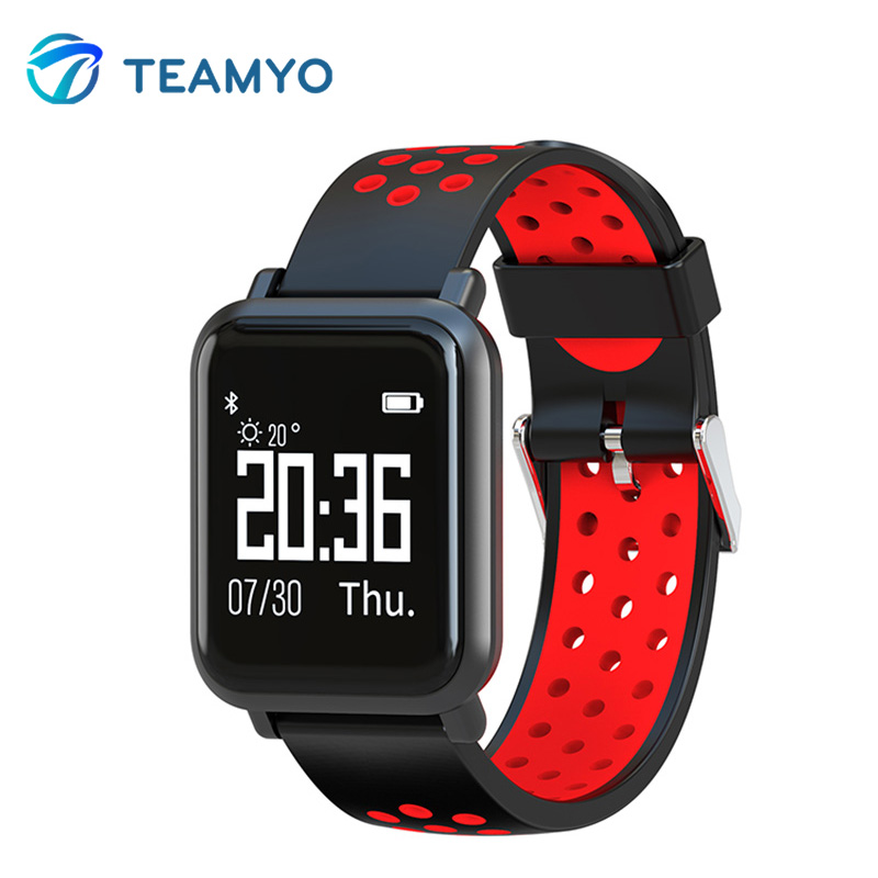 2018 New Smart Band Heart Rate Monitor Fitness Bracelet 9.9mm Slim Thickness Watches Blood Pressure IP68 Waterproof Pk Fitbits