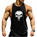 Fitness Tank Top Men Bodybuilding 2017 Clothing Fitness Men Shirt Crossfit Vests Cotton Singlets Muscle Top Gums Undershirts