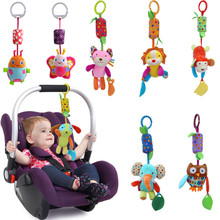 Christmas Gift Hot Sale New Infant Toys Mobile Baby Plush Toy Bed Wind Chimes Rattles Bell Toy Stroller for Newborn CG82501