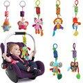 Presente do bebê hot venda nova infantil bebê plush toys móvel brinquedo Cama Sino Sinos de Vento Chocalhos de Brinquedo Carrinho de bebê para Recém-nascidos CG82501