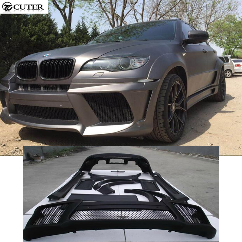 E71 X6 LM Style FRP Unpainted Black Primer Auto Car Bumper For BMW E71 X6 Body Kits 08-15