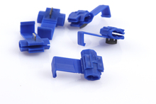 ФОТО 10pcs/lot 802p3 blue scotch lock quick splice g14 18-14 awg hard soft 0.75-2.5 wire connector free shipping russia